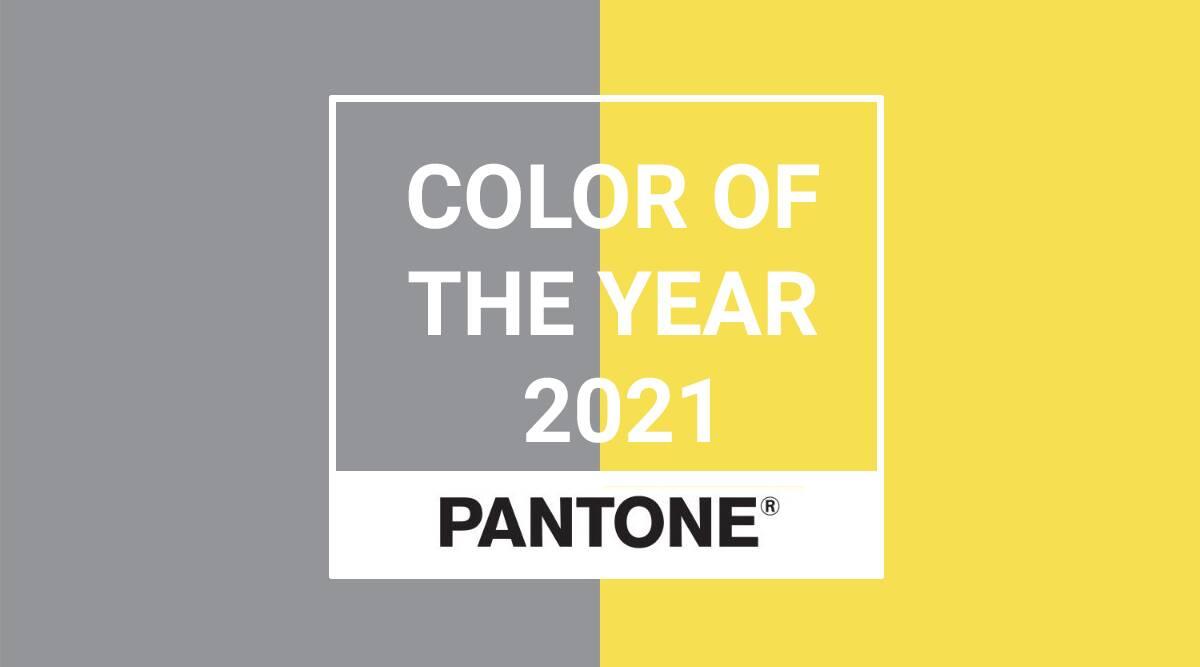 colori pantone 2021 grigio e giallo